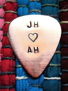 13 Anniversary Gifts He'll Love: Guitar Pick, $15.50