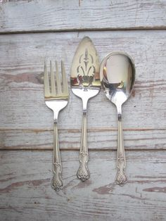Silver Plate Serving Pieces by momentofnostalgia on Etsy, $32.00