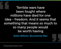 imdb bicentennial man quotes