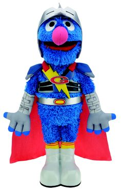Super Grover 2.0 ... must get this for my little one's birthday!