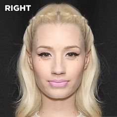 If Celebs Had Symmetrical Faces