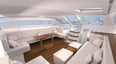 Yacht 76 piedi deck saloon - Mylius