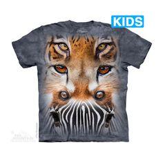 Zoo Face Totem Kids T-Shirt