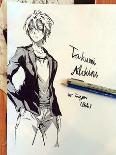 Shokugeki no Souma | Food Wars! | Takumi Aldini | Anime | Fanart | SailorMeowMeow