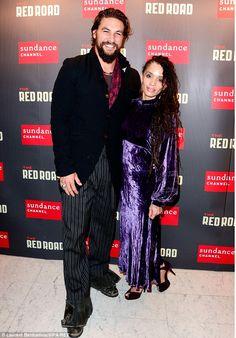 Lisa Bonet with sexy hubby Jason Momoa