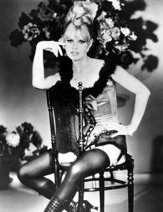 Brigitte Bardot publicity for 'Viva Maria', 1965.