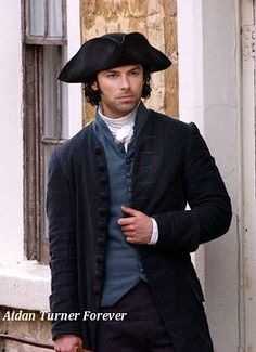 Aidan Turner (as Ross Poldark) is Josiah Wheeler