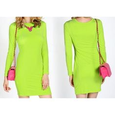 Get 36% off on Women's Plain, Neon, Fluorescent Ladies Stretchy Bodycon Midi Dress by souqelkhaleej. For more details visit - http://www.souqelkhaleej.com/en/new-fashion-summer-autumn-ladies-casual-dress-sleeveless-vintage-empire-chiffon-leopard-women-dress-12440.html
