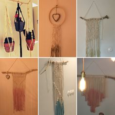Macramé   My new obsession   Wallhangings