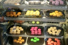 macarons from asalt and buttery