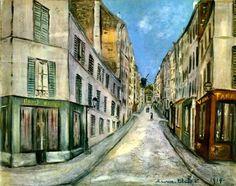 utrillo paintings | Maurice Utrillo | Art Blart