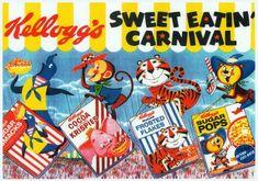 B4ポスター/Kellogg's ケロッグ オールスター - レトロ可愛い雑貨屋ソース WEBショップ