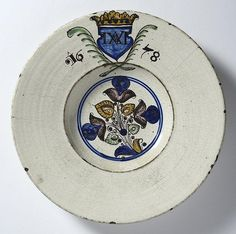 Buy online, view images and see past prices for HABAN PLATE. Invaluable is the world's largest marketplace for art, antiques, and collectibles. Antique Pottery, Modern Ceramics, Delft, Earthenware, Painting Art, Home Art, Porcelain, Europe, China