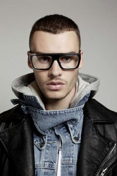 Hispter-Approved Eyewear Ads - The Ksubi Autumn/Winter 2012 War Lookbook is Edgy and Urban (GALLERY)