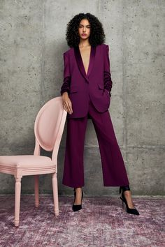 business mode damen The complete Alice + Olivia Pre-Fall 2020 fashion show now on Vogue Runway. Suit Fashion, Fashion 2020, Fashion Week, Runway Fashion, High Fashion, Fashion Show, Fashion Black, Fashion Styles, Couture Mode