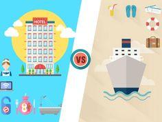 Analizamos de forma imparcial Crucero vs Hotel a la hora de elegir nuestras próximas vacaciones. Las ventajas y desventajas de ambas opciones.
