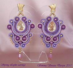 Orecchini Spring Lights / Spring Light earrings by PerlineeBijoux