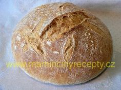 Bezlepkový křupavý chleba Gluten Free Recipes, Free Food, Food And Drink, Bread, Cooking, Health, Desserts, Glutenfree, Kitchen