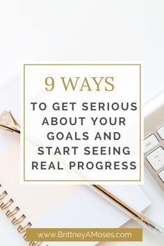 9 Ways to Get Serious About Your Goals and Start Seeing Real Progress : New month, new opportunities ! Here are 9 Ways to Get Serious About Your Goals this month and Start Seeing Real Life Progress Achieving Goals, Achieve Your Goals, Business Goals, Business Planning, Business Tips, Creative Business, Online Business, To Do Planner, Goal Setting Worksheet