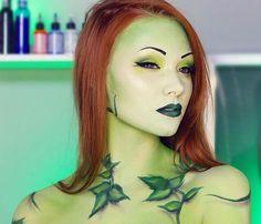 Poison Ivy Tutorial HalloweenTip  #Beauty #Trusper #Tip