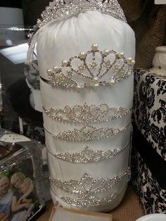 Wedding Tiara Display