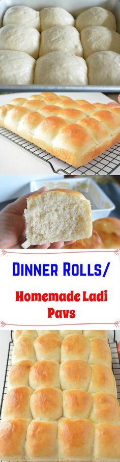 Homemade Ladi Pav and Buns - Step by step feather soft dinner buns or eggless Laadi/ladi pav recipe. Fabulous Mumbai Ladi pav that are easy to make, light, fluffy with good flavor and hearty texture.