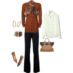 """""""business casual - fall"""" by Dar   on Polyvore"""