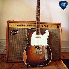 Wrapping up Teletuesday with @jeppelindahl.dk 's well loved 1964 #Telecaster. A beauty isn't it? Learn to play guitar at www.Studio33GuitarLessons.com