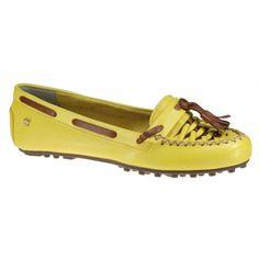 dd4a0028ed135 Sapato Dockside Cravo e Canela 135003-4 - Amarelo Avelã - Calçados Online  Sandálias, Sapatos e Botas Femininas   Katy.com.br