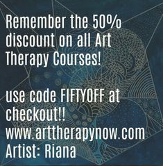 For a limited time get up to of any of our art therapy courses. Art Therapy Courses, Self Healing, All Art, Online Courses, Coding, Student, How To Get, Board, Planks