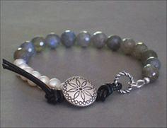 handmade-beaded-gemstone-jewelry.com #handmade #bracelet