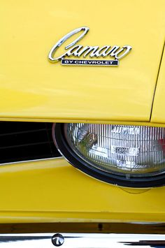 1969 Chevrolet Camaro 427 Engine Hood Emblem - ℛℰ℘i ℕnℰD by Averson Automotive Group LLC Camaro Ss 1969, Chevelle Ss 454, Chevrolet Corvette, Car Logos, Auto Logos, Yellow Camaro, Classic Camaro, Chevy Vehicles, Yellow