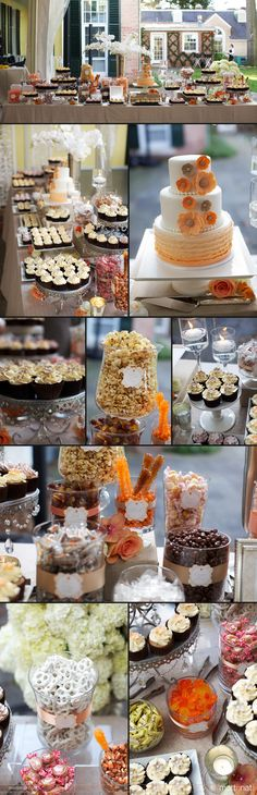Vintage Sweets Table Wedding Reception