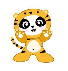 lil'panda roar like a tiger -- lil'panda loves Katy Perry! www.lilpanda.com