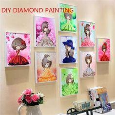 DIY Crystal Sticker With Frame Decoration For Kids 20cm*20cm