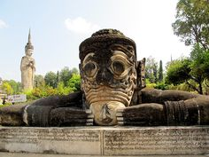 Statue park, Sala Kaew Ku, Nong Khai, Thailand