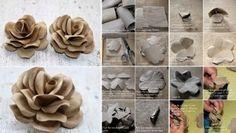 Roses-using-Toilet-Tubes