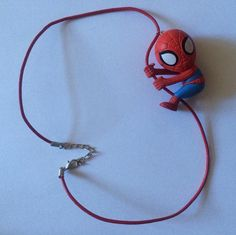 Spider-man Necklace by ToyNecklaces on Etsy