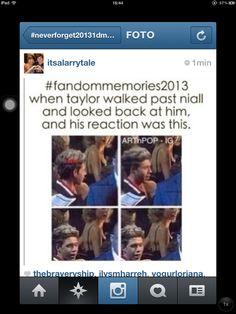 hahahahaha 2013 memories ...  this is why I love niall .