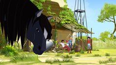 Le Ranch, Riding Helmets, Anime, Art, Cartoon, Art Background, Anime Shows, Kunst, Gcse Art