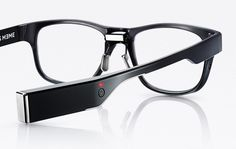 Japanese eyewear designer Jins has debuted a line of stylish glasses that are equipped to track fatigue and posture.