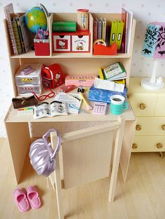 Re-ment Stationary & Desk | Flickr - Photo Sharing!