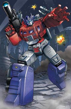 Power Master Optimus Prime: Transformers by ZeroMayhem.deviantart.com on @DeviantArt