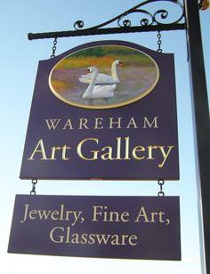 Wareham Art Gallery Sign | Danthonia Designs