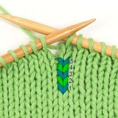 Knitting tip: Counting rows on knitting pieces – Best Knitting 2020 Textiles, Knitted Headband, Needle And Thread, Color Inspiration, Knitting Patterns, Blog, Learning, Diy, August 17
