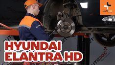 Jak vyměnit přední brzdové kotouče a přední brzdové destičky na HYUNDAI ...