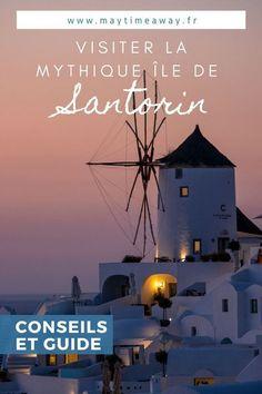 Lors de notre séjour en Grèce, dans l'archipel des Cyclades, nous avons visiter l'incroyable île de Santorin ! Santorin c'est des hôtels qui font rêver, des paysages à couper le souffle, les villages d'Oia et Fira mythiques et des couchers de soleil magnifiques. Que vous y passiez un week-end ou plus, vous n'allez pas vous ennuyer. Je vous propose dans mon article, tous les conseils et incontournables pour Visiter Santorin ainsi que les plus belles photos de notre voyage. #santorin #santorini Santorini, Destinations D'europe, Weekend France, Voyage Europe, Belle Photo, Souffle, Ainsi, Movie Posters, Movies