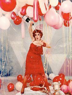 Marilyn Monroe posing as Clara Bow. By Richard Avedon.