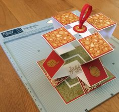 Early Morning Crafts: Telescoping Card Exploding Boxes, Thanksgiving Cards, Early Morning, Cardmaking, Stamping, Clever, Paper, Projects, Blog