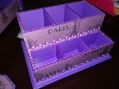 Cube, Decoupage, Tray, Trays, Board